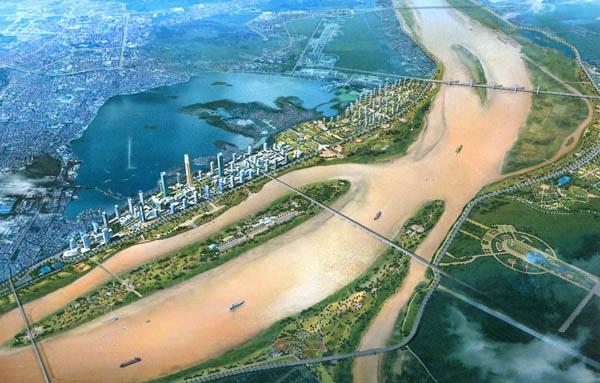 Sun Group, Vingroup và Geleximco tài trợ kinh phí lập quy hoạch hai bên bờ sông Hồng