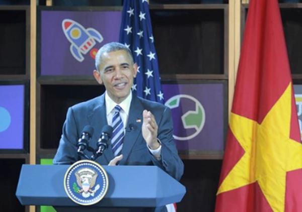 """Ông Obama: """"Bạn nghèo không có nghĩa là bạn không thể trở thành doanh nhân"""""""