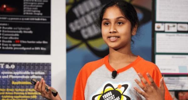 Mới 13 tuổi, bé gái này đã sáng chế ra thiết bị có thể thắp sáng cả Ấn Độ với chỉ 5 USD