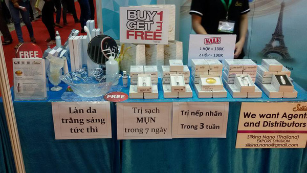 """Rổ rá, thuốc trị mụn """"thương hiệu hàng đầu"""" Thái Lan tấn công thị trường Việt Nam"""