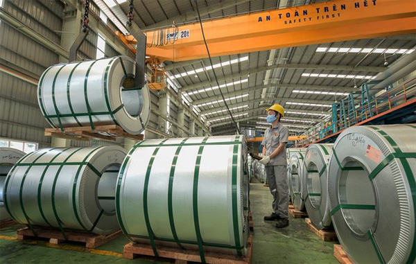 Производство и потребление стали во Вьетнаме сократились