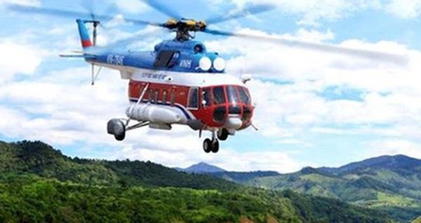 Một máy bay trực thăng mất liên lạc tại khu vực Bà Rịa-Vũng Tàu