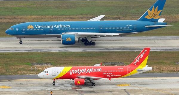 VietJet Air có thể sẽ 'vượt mặt' Vietnam Airlines vào tháng 3/2016