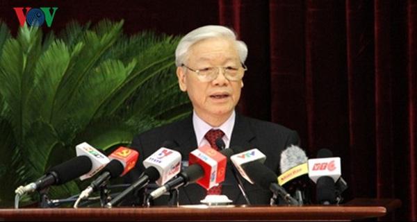 Toàn văn phát biểu của Tổng Bí thư khai mạc Hội nghị Trung ương 4