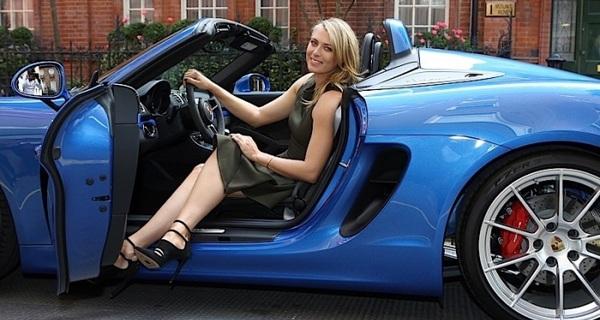 Thương hiệu xe sang Porsche cắt hợp đồng với Sharapova