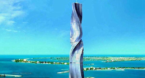 Dubai đang cho xây dựng tòa nhà biết chuyển động theo lệnh của con người đầu tiên trên thế giới