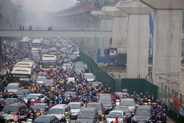 Cấm xe máy trong nội thành Hà Nội: Hơn 90% người dân thủ đô đồng ý!