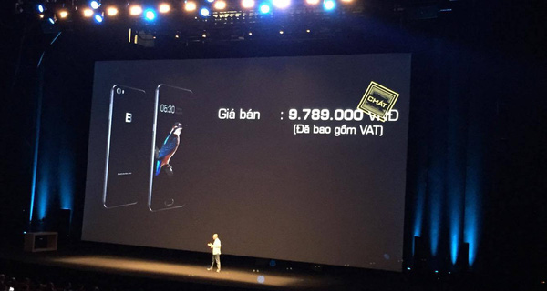 """CEO Nguyễn Tử Quảng ra mắt Bphone 2017 giá 9,7 triệu có hẳn Camera ứng dụng trí tuệ nhân tạo (?): """"Chúng tôi gọi đây là chất"""""""