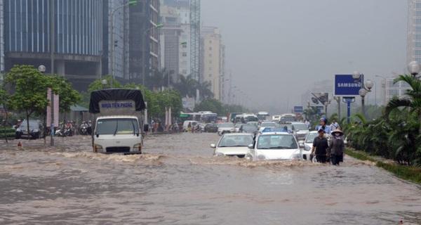 """Nhiều khu đô thị mới ở Hà Nội thành """"ốc đảo"""" trong mưa: Vì đâu nên nỗi?"""