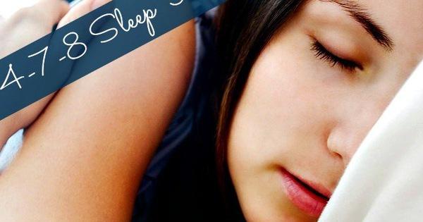 """Tập phương pháp """"4-7-8"""" giúp bạn ngủ ngon như một đứa trẻ chỉ trong 60s"""