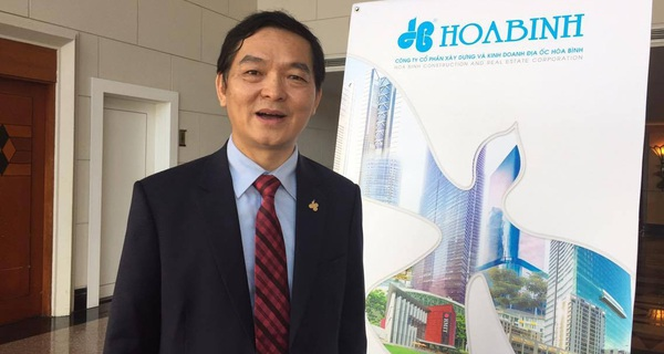 Chủ tịch Địa ốc Hòa Bình: 2017 đặt kế hoạch lãi 650 tỷ, thận trọng bước ra thị trường thế giới