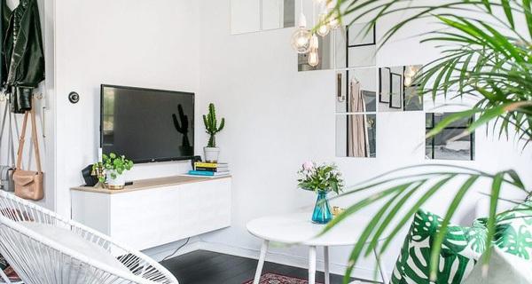 Chỉ 35m2 nhưng cách thiết kế của căn hộ chung cư này khiến vạn người mê