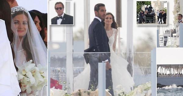 Cận cảnh đám cưới xa hoa ngút trời của con gái ông trùm địa ốc New York có giá 568 tỷ