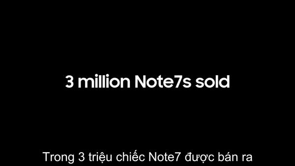 Video 2 phút do chính Samsung thực hiện giải thích tường tận lý do vì sao Galaxy Note7 có thể phát nổ