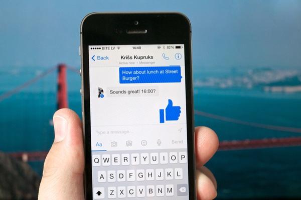 Facebook đang thử nghiệm nút dislike trên Messenger