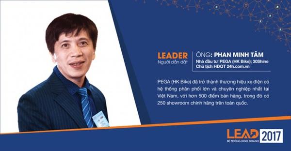 Đại diện Pega, Ô mai Hồng Lam và giầy Juno sẽ cùng đăng đàn tại LEAD 2017