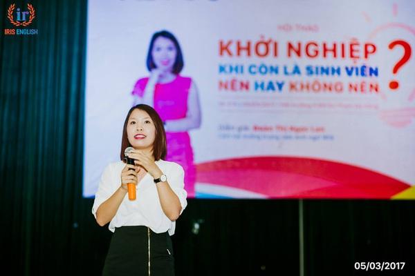 Chân dung Nữ CEO 9x tham vọng biến Tiếng Anh trở thành ngôn ngữ thứ 2 tại Đà Nẵng