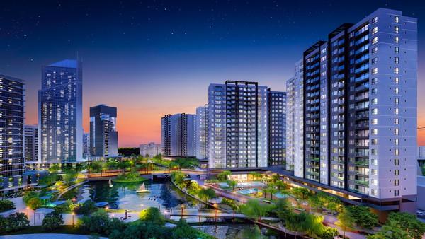 """Chuẩn bị ra mắt căn hộ kênh đào """"chất Nhật"""" Flora Mizuki"""