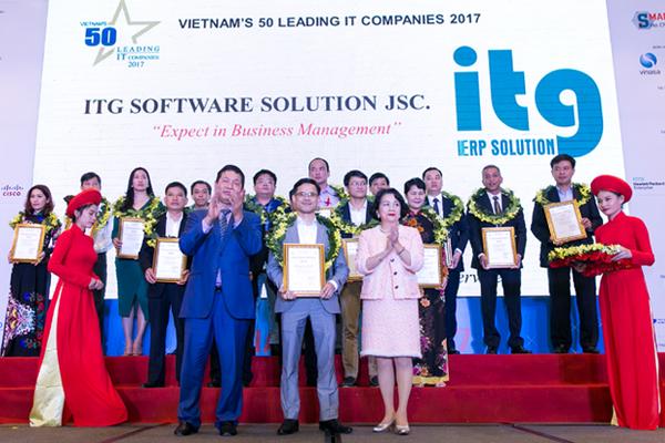 3S ERP đưa ITG vào Top 50 Doanh nghiệp CNTT hàng đầu Việt Nam