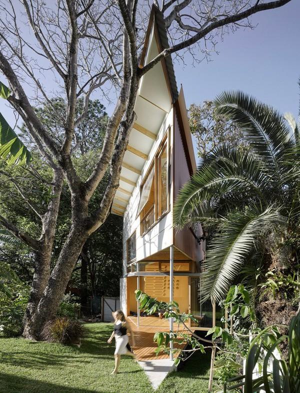 Ngôi nhà nhỏ, hẹp nhưng cũng siêu đẹp khiến ai nhìn cũng muốn đến ở ngay lập tức