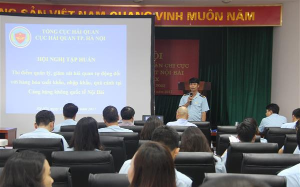 Từ 16/10, triển khai thí điểm giám sát tự động hàng hóa qua đường hàng không Nội Bài