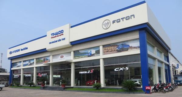 Thị phần rơi vào tay Toyota, Mercedes... doanh thu và lợi nhuận Thaco giảm mạnh
