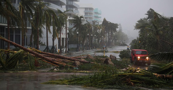 Bộ đôi siêu bão đắt đỏ Irma và Harvey có thể làm Mỹ thiệt hại tới 290 tỷ USD