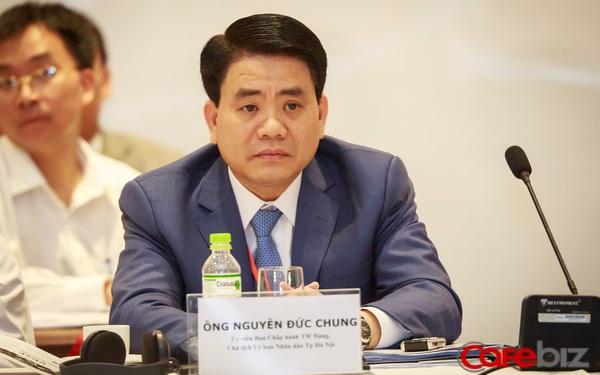 Chủ tịch Nguyễn Đức Chung chia sẻ chỉ một hành động này đã giúp Hà Nội từng bước xây dựng thành phố thông minh mà không tốn một xu Ngân sách