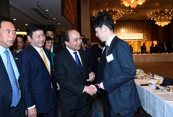 Trước cuộc cách mạng 4.0, Thủ tướng kêu gọi làn sóng đầu tư công nghệ cao của các DN Nhật Bản vào Việt Nam