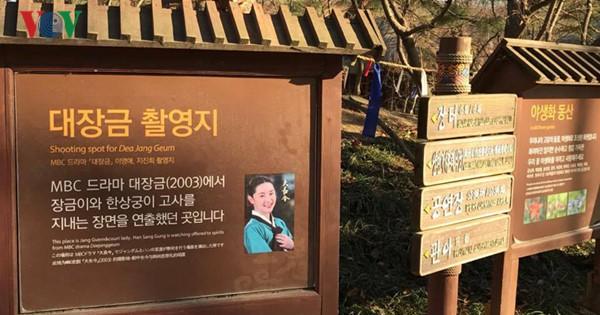Dùng phim trường làm du lịch, hãy học Hàn Quốc