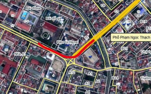 Hà Nội chuẩn bị khởi công cầu vượt Phạm Ngọc Thạch - Chùa Bộc