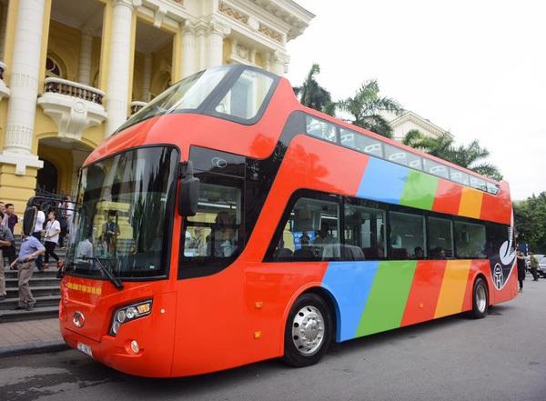 Tìm hiểu về xe bus mui trần - xe bus kiểu mới vừa về Hà Nội để phục vụ nhu cầu ngắm cảnh