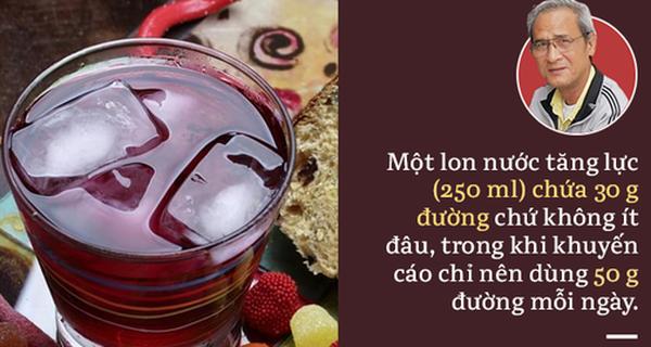 Sự thật về nước tăng lực: Không bổ béo, uống nhiều, uống thường xuyên có hại
