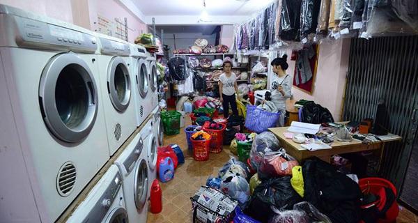 Khởi nghiệp giặt là dân sinh
