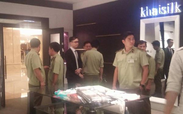 Chi cục Quản lý thị trường đồng loạt kiểm tra các cửa hàng Khaisilk tại Sài Gòn