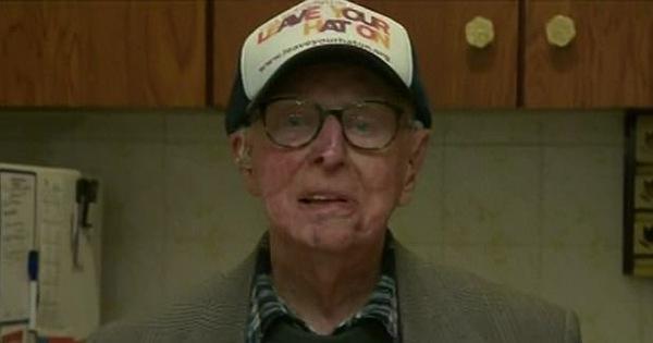 Dù đã ở tuổi 101, người cựu binh chiến tranh đã làm điều phi thường không ai có thể tin