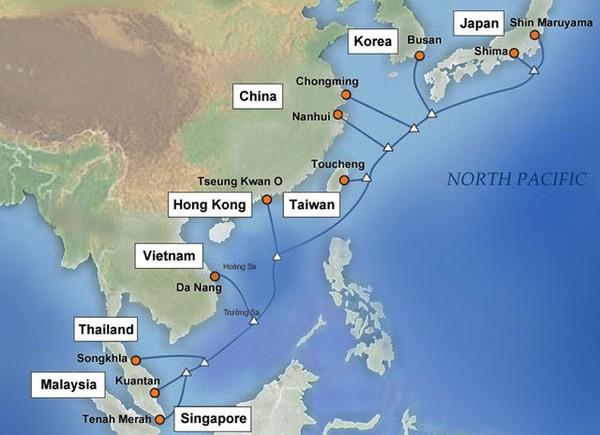 Việt Nam nối tuyến cáp quang nhanh và chắc chắn hơn AAG