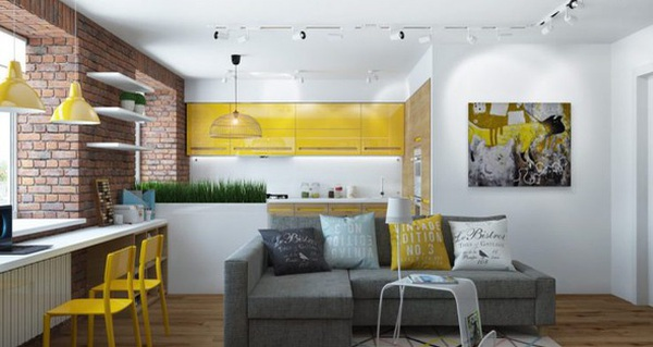 """Thiết kế nội thất """"chất lừ"""" của ngôi nhà ống 65m2 cho các gia đình trẻ"""