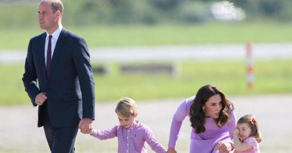 Cách công nương Kate Middleton khéo léo xử lí cơn ăn vạ của con y như một chuyên gia tâm lý