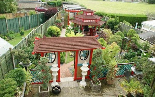 Mê mẩn khu vườn Á Đông như thiên đường của ông lão 80 tuổi
