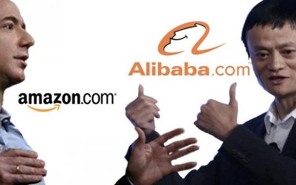 """Đại chiến Amazon và Alibaba: Jeff Bezos bất ngờ """"cắp sách"""" học Jack Ma"""