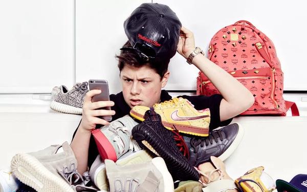 Mới 16 tuổi, cậu bé này đã kiếm được hơn 22 tỷ đồng nhờ bán sneaker quý hiếm cho người nổi tiếng