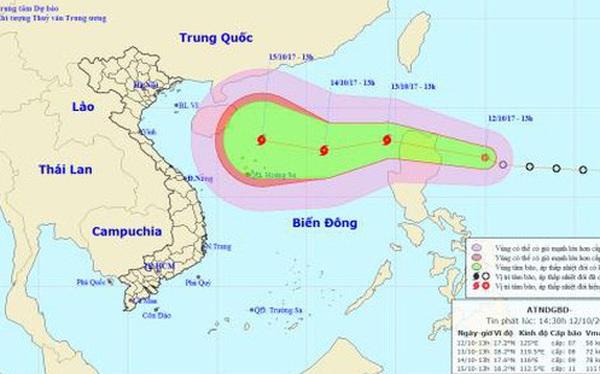 Biển Đông sắp đón cơn bão thứ 11, miền Bắc đón không khí lạnh