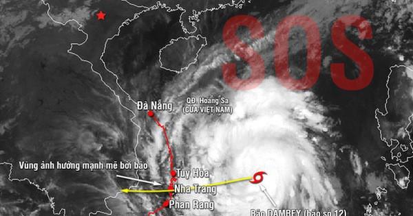 Nóng: Hãng tin nổi tiếng cập nhật dự báo hiểm họa bão Con Voi với Việt Nam, Lào, Campuchia