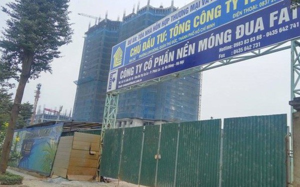 Thi công không phép, cao ốc 30 tầng Tecco Tower bị đình chỉ thi công