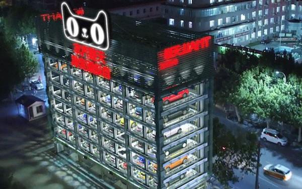 """Lái thử và mua xe qua """"máy bán ôtô"""" tự động của Alibaba"""