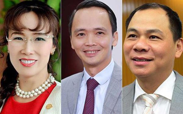 Top 10 người giàu nhất sàn chứng khoán 2017: Tỷ phú Phạm Nhật Vượng giữ vững ngôi vương, bất động sản vẫn thống trị danh sách