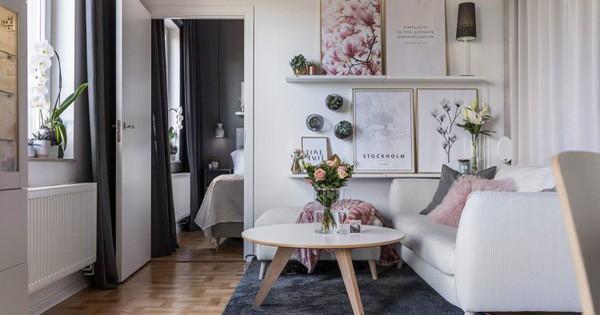 Thiết kế nội thất Căn hộ nhỏ đẹp như mơ đốn tim vạn người