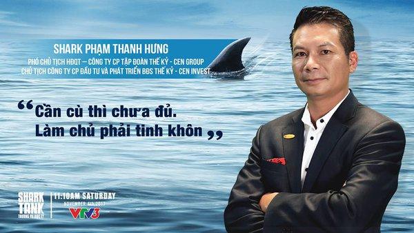 """Phó Chủ tịch CEN Group: """"Cá mập"""" thích ăn tôm nhưng bạn lại là cá, không phải thả cái gì """"shark"""" cũng đớp mồi"""