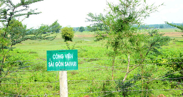 Dự án Saigon Safari sẽ là trung tâm du lịch của TP.HCM, 1/3 diện tích dành cho khách sạn và giải trí